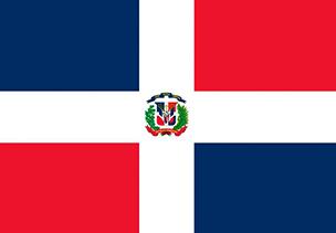 Bandera Republica Dominicana